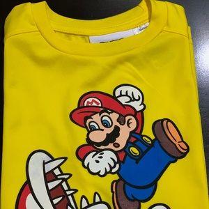Super Mario Boys T-Shirt Size 7